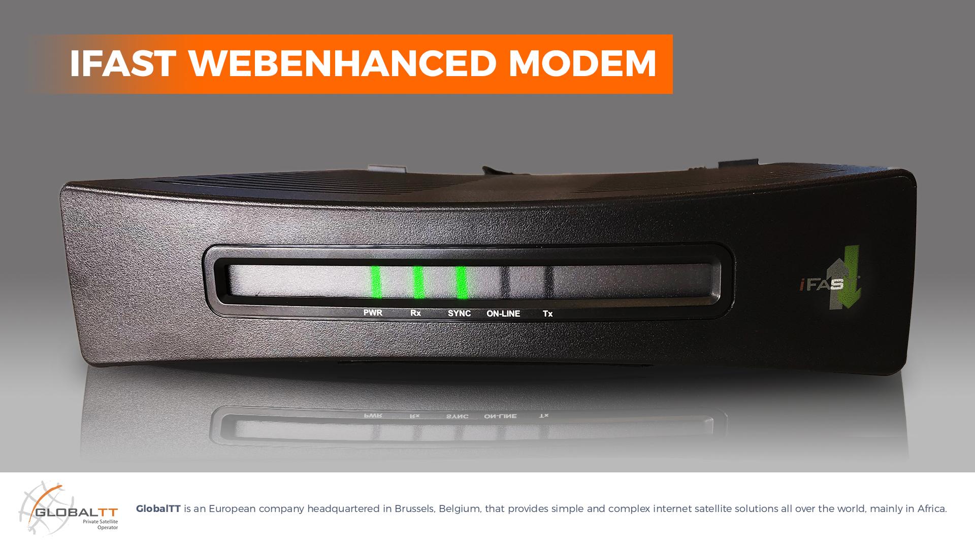 web enhance modem